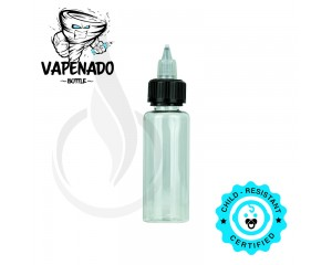 VAPENADO 60ml Bottle with Black/Clear Cap